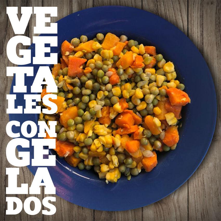 Vegetales congelados